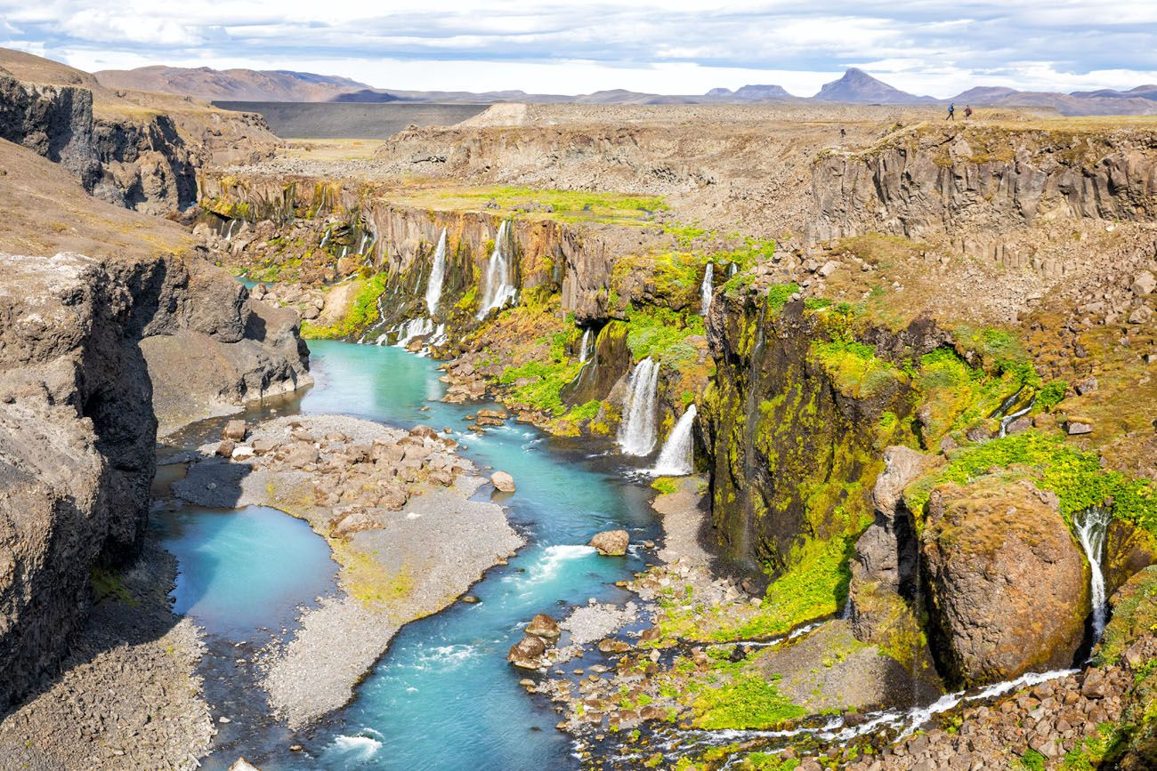 Sigoldugljufur 10 days in Iceland itinerary