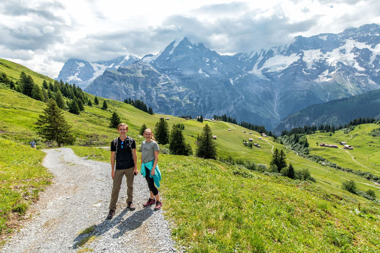 Tyler and Kara in Switzerland