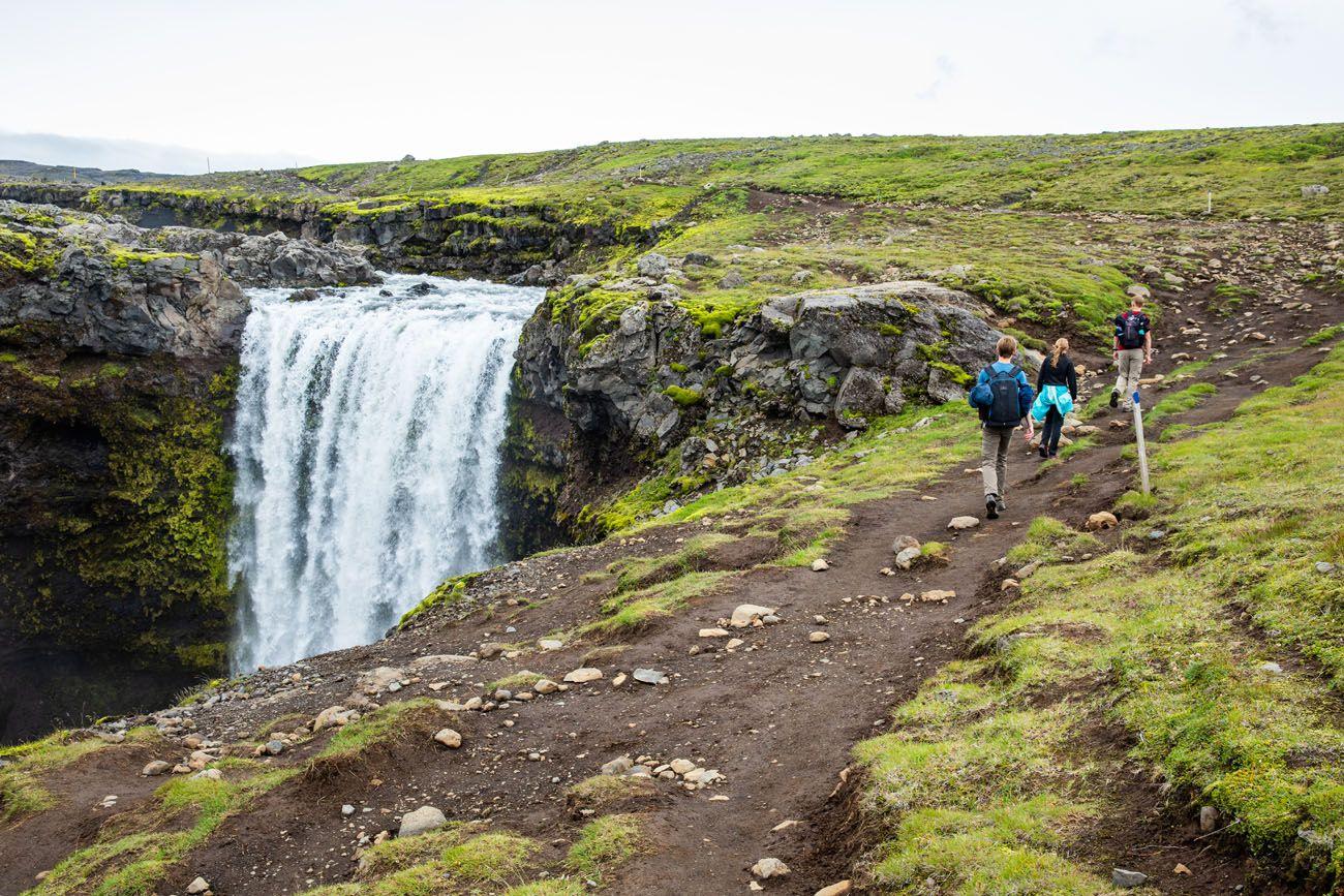 Waterfall Way in July