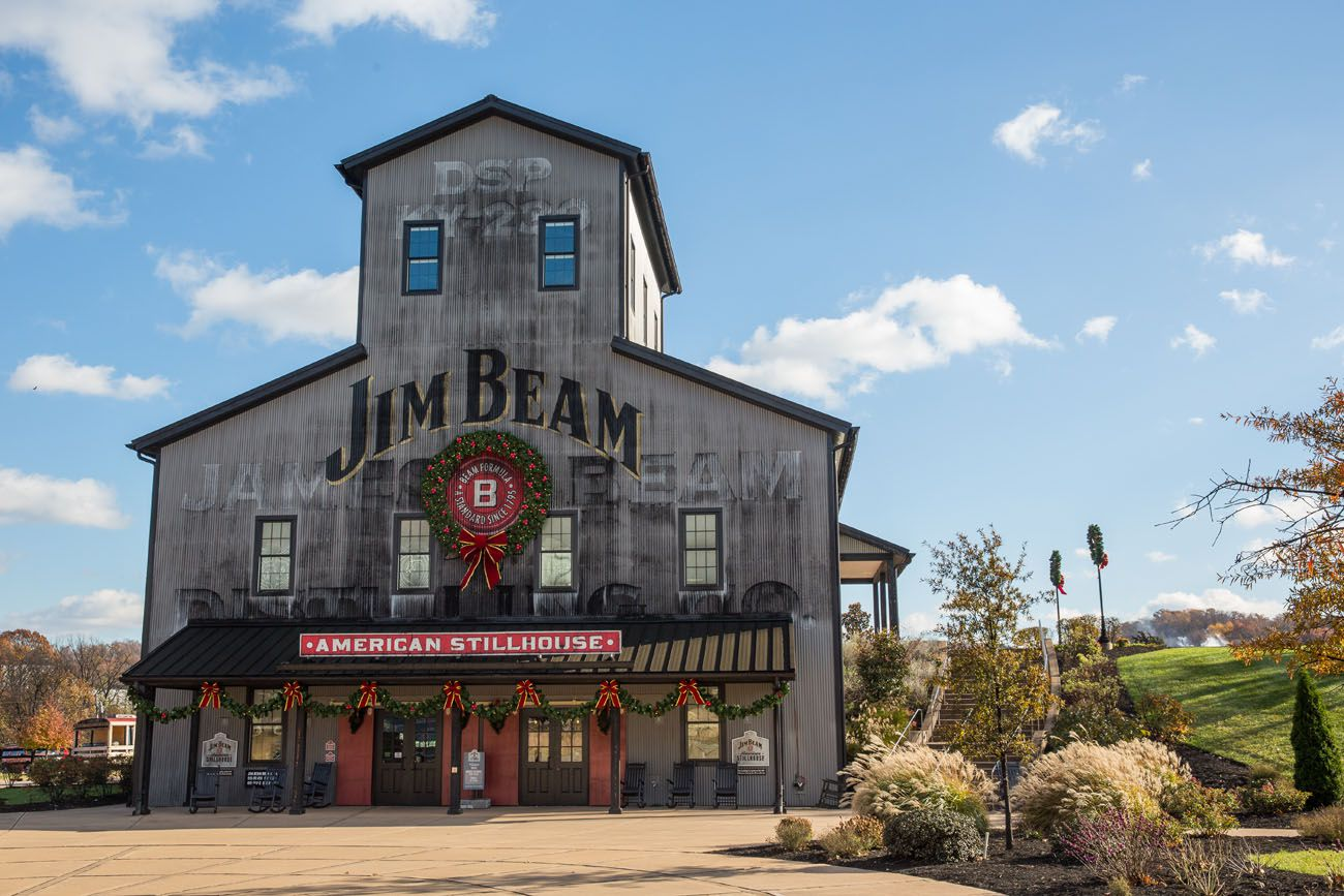 American Stillhouse Kentucky Bourbon Trail itinerary
