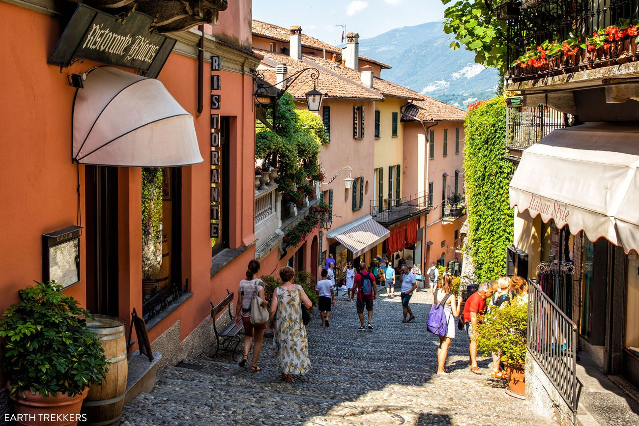 Bellagio Two Weeks in Italy Itinerary