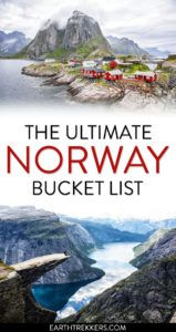 Best things to do in Norway Bucket List