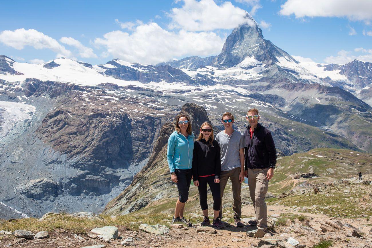 Best things to do in Zermatt Family Photo