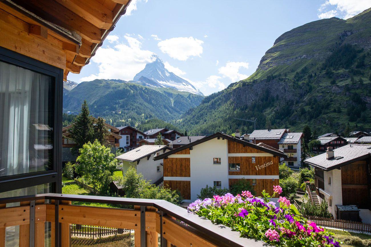 Best things to do in Zermatt Matterhorn View