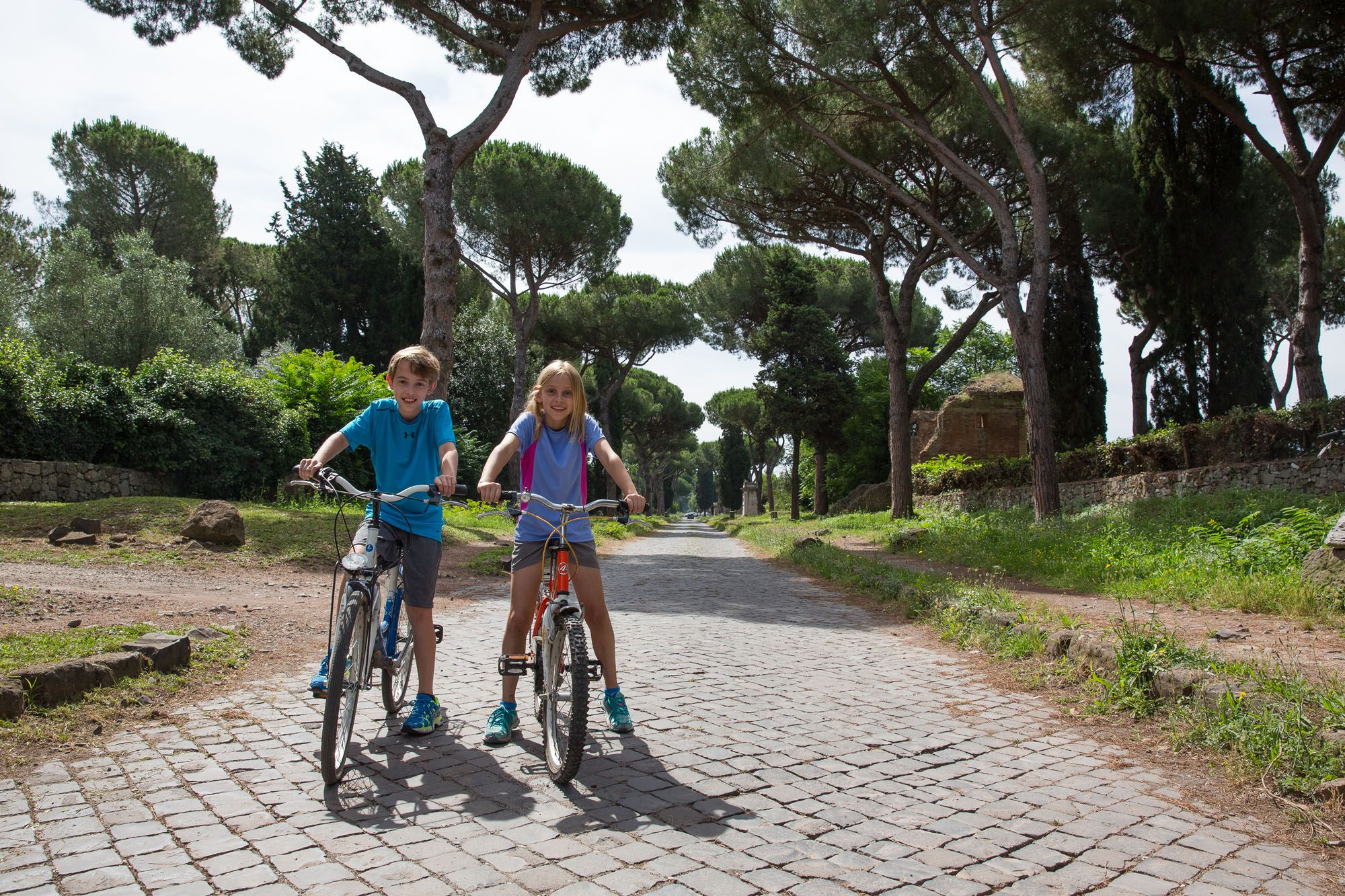 Biking the Appian Way