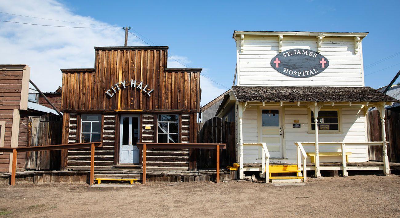 Butte Mining Town