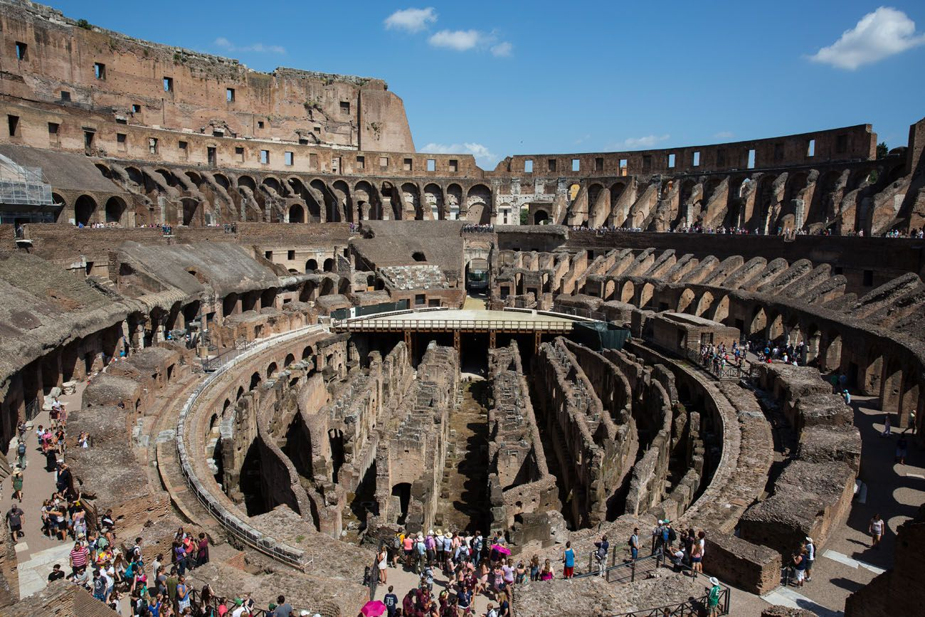 Colosseum 2 days in Rome itinerary