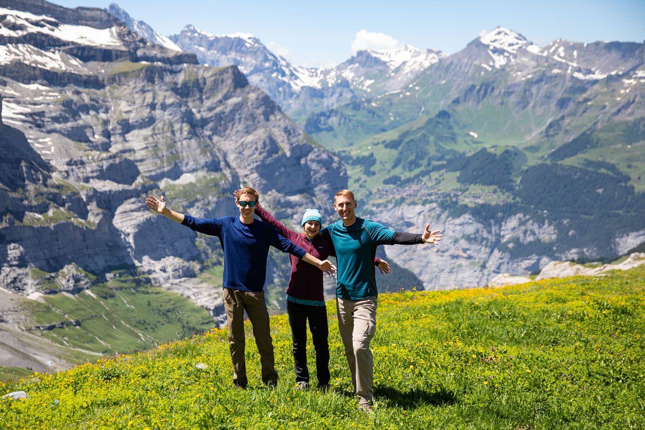 Earth Trekkers in Switzerland