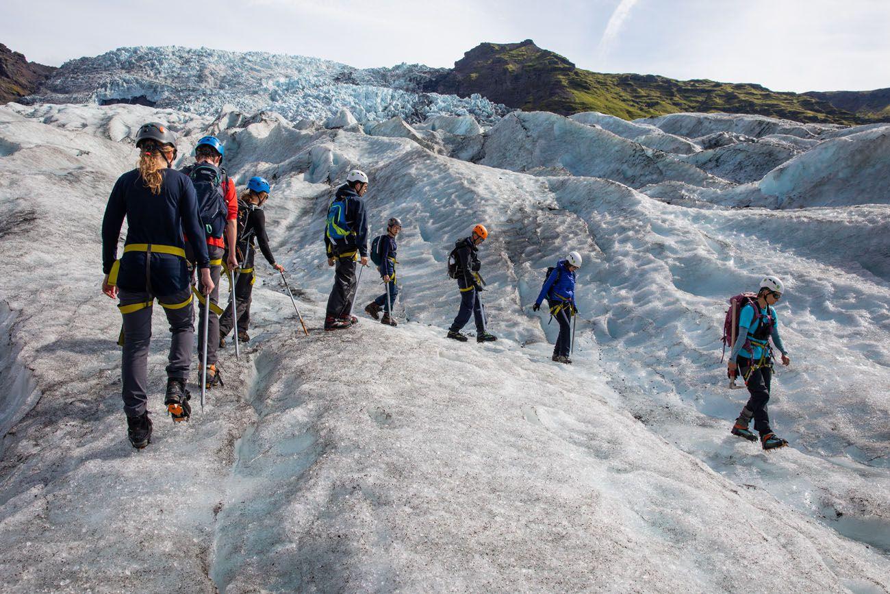 Europe Itinerary Glacier Walk