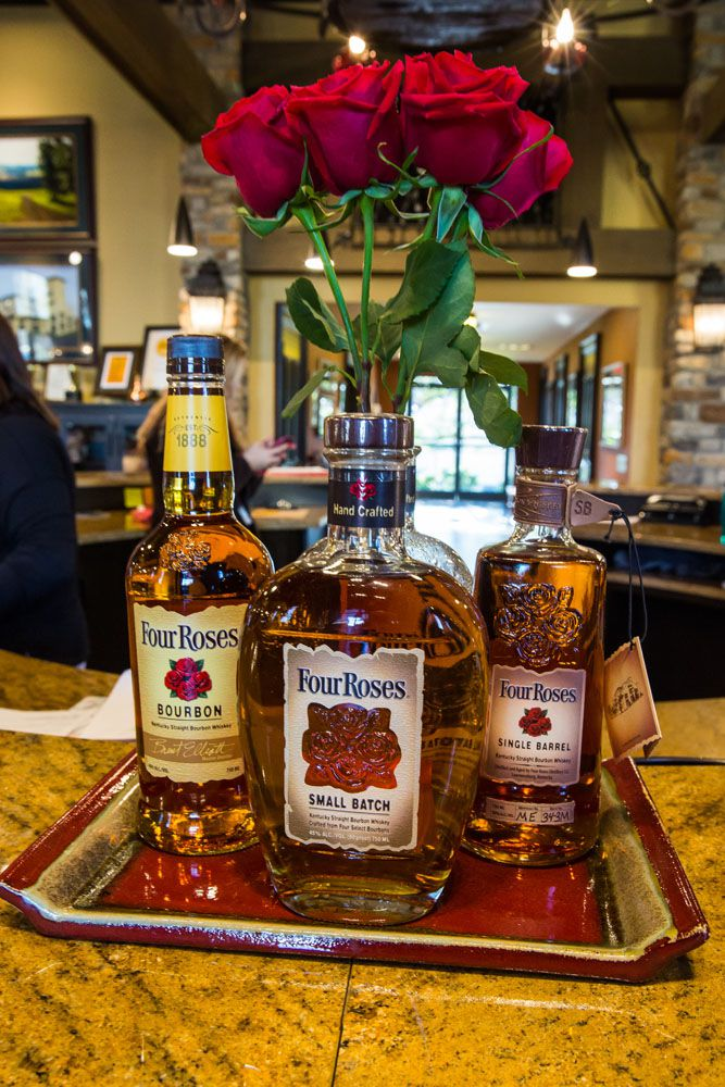 Four Roses Kentucky Bourbon Trail itinerary