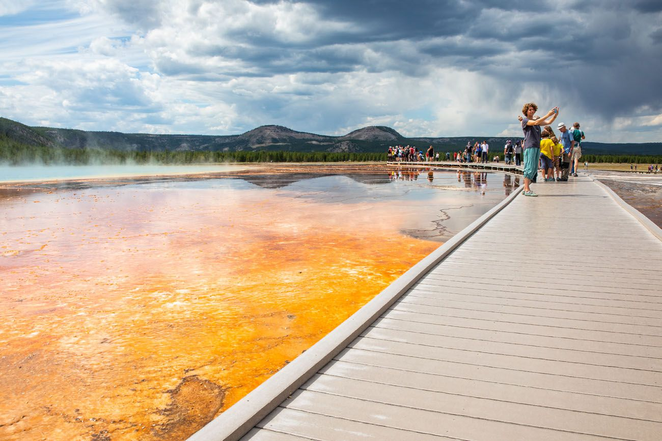 Grand Prismatic Spring Boardwalk