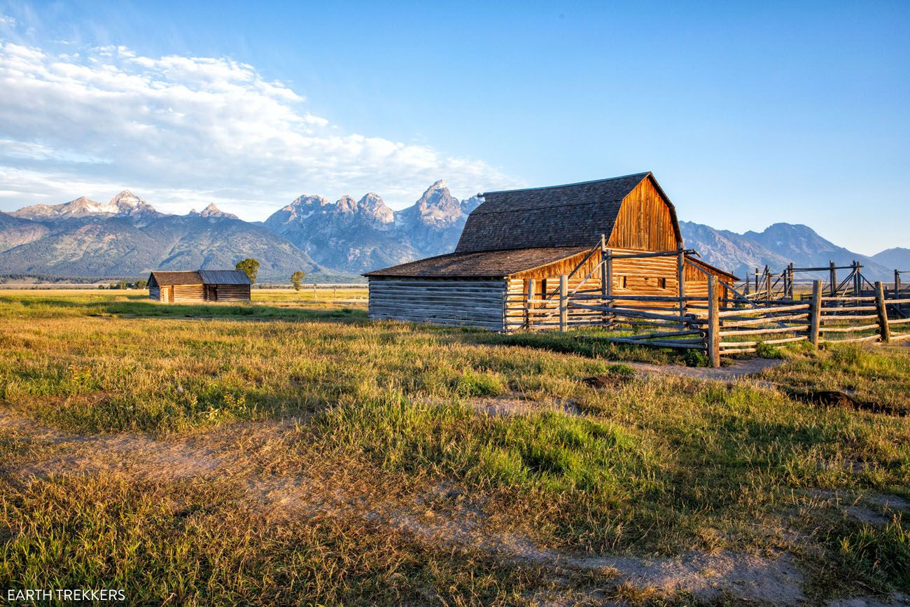 Grand Teton Itinerary