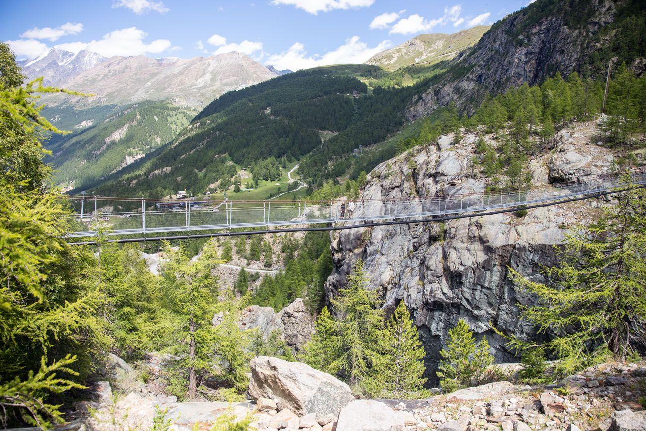 Hangbrucke Zermatt