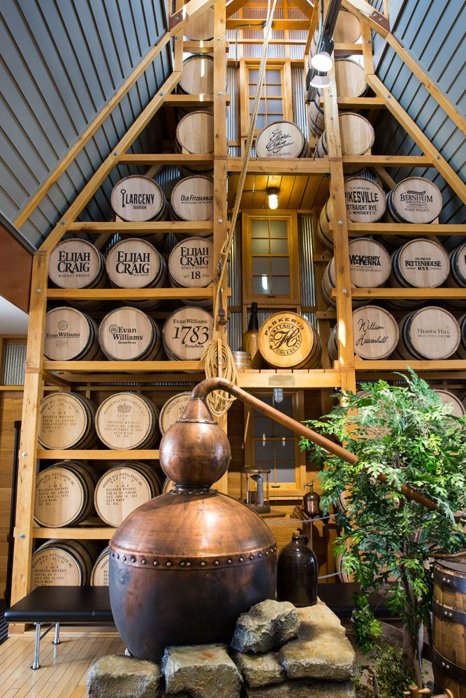 Heaven Hill Kentucky Bourbon Trail itinerary