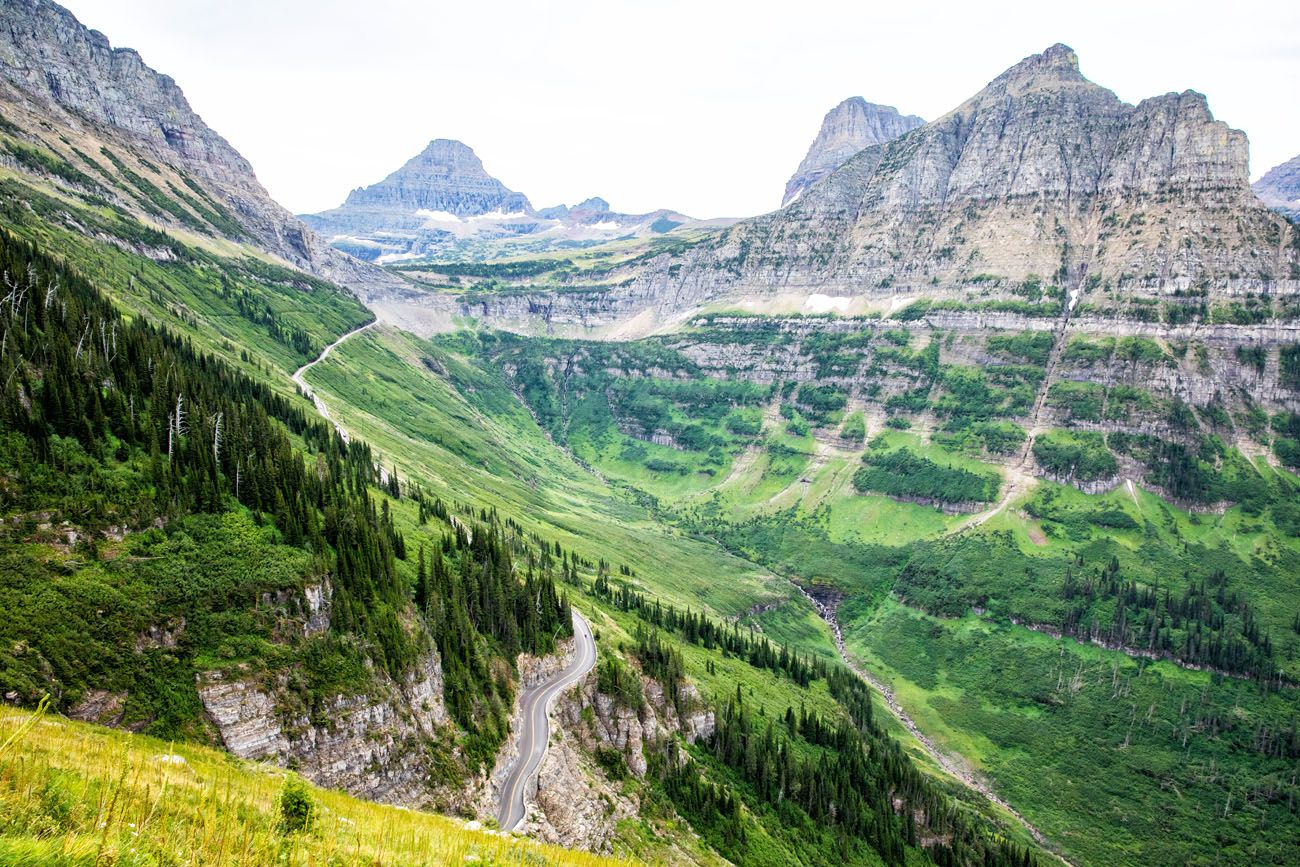 Hiking Glacier NP