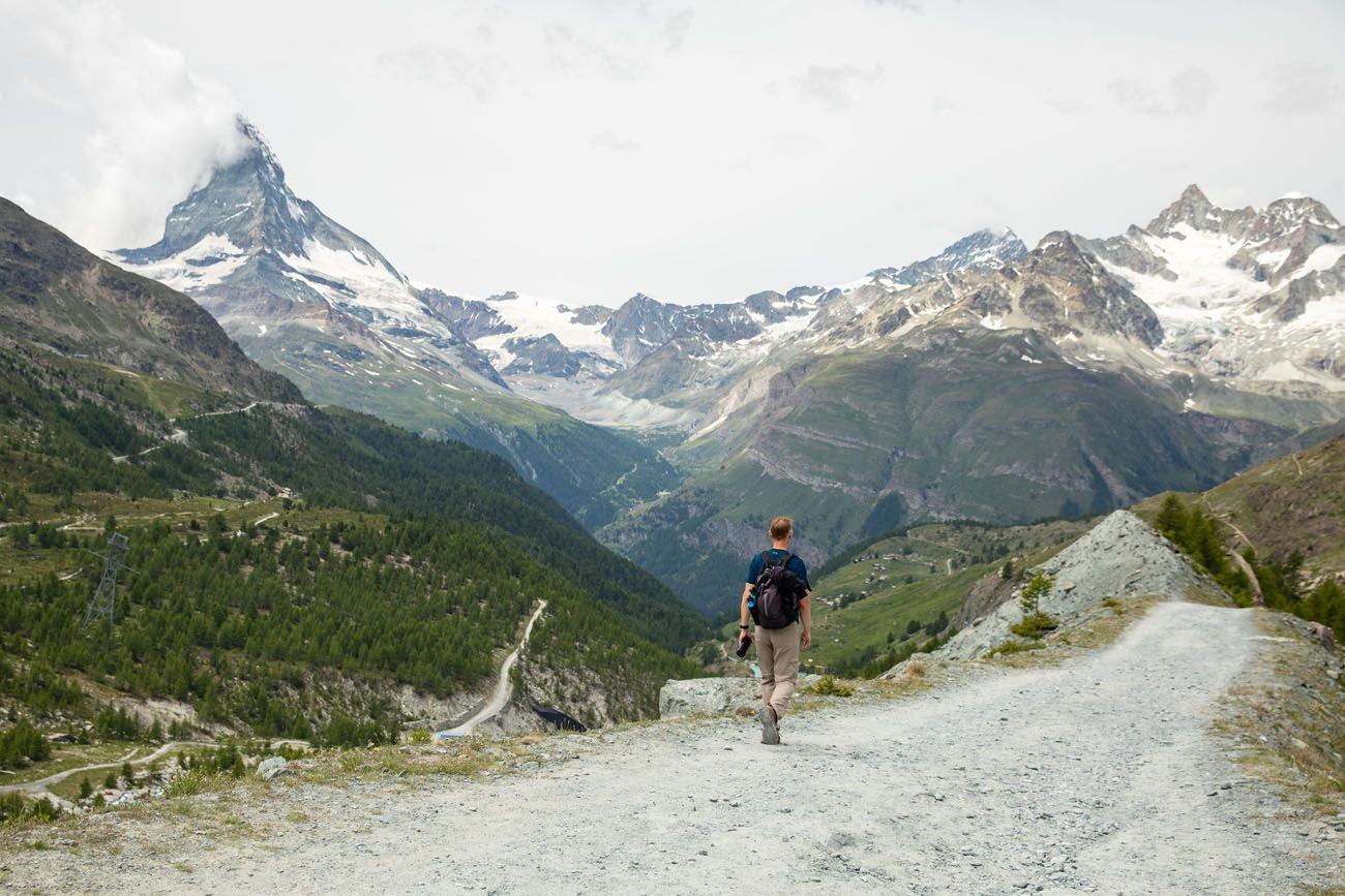 Hiking the Five Lakes Trail Zermatt