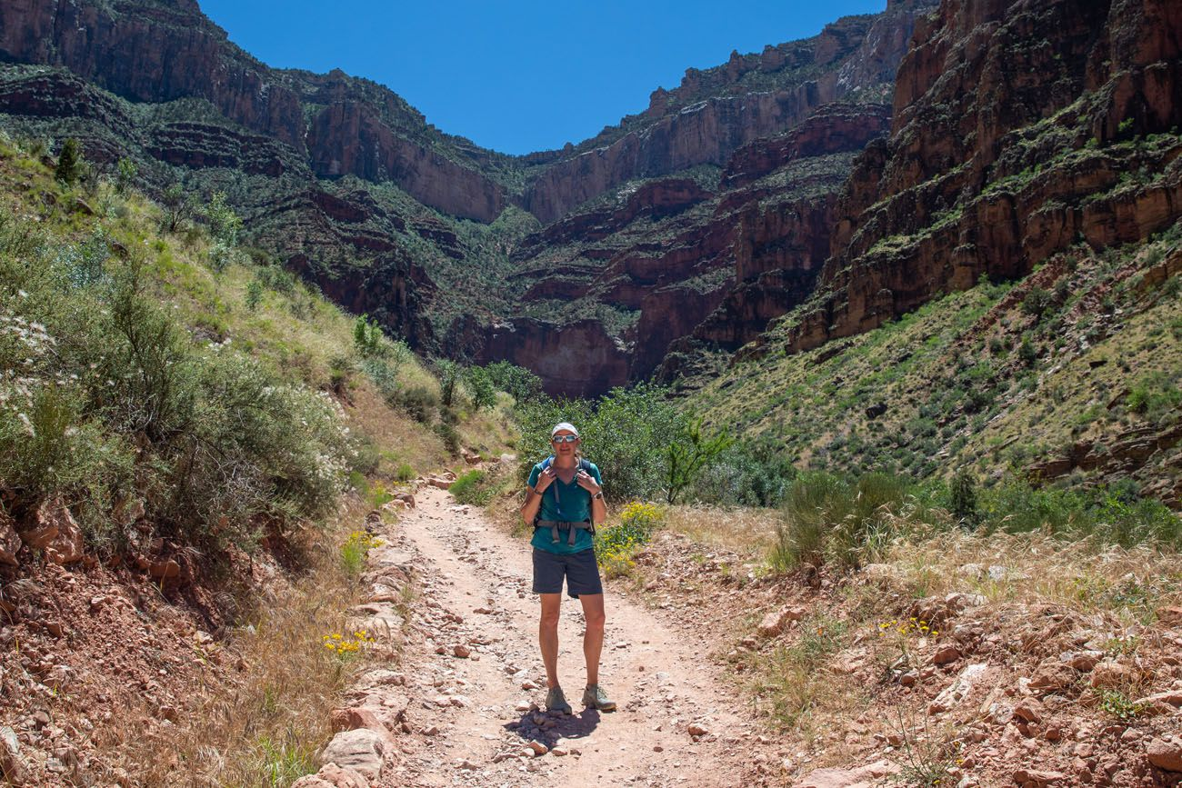 Julie in the Grand Canyon