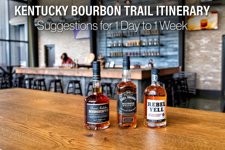 Kentucky Bourbon Trail Itinerary