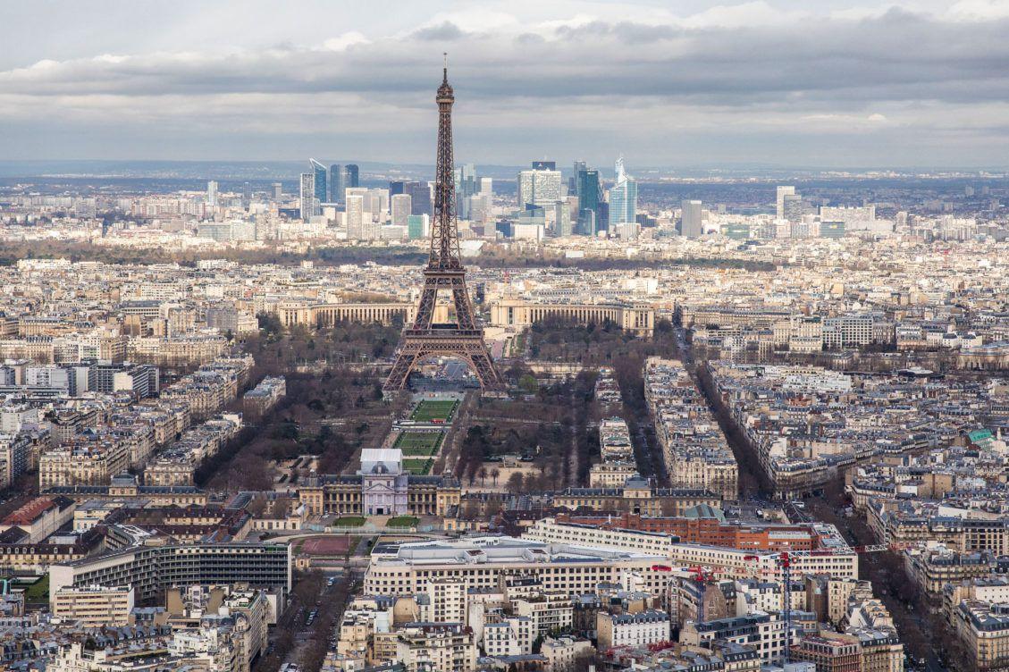 Montparnasse View of Paris