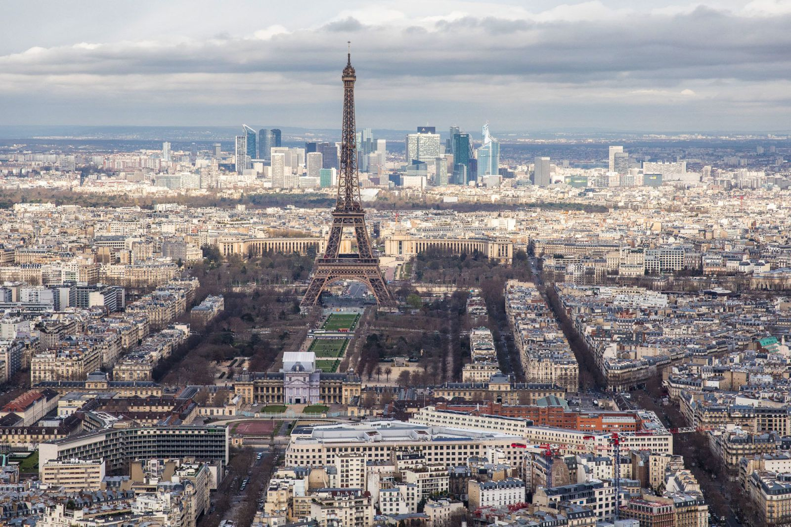 Montparnasse View of Paris