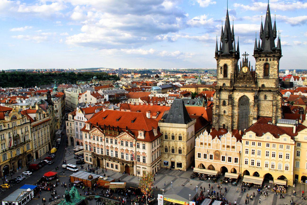 Prague Europe Itinerary