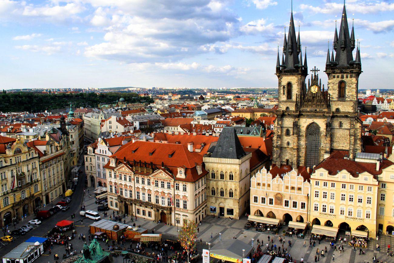 Prague Europe Itinerary