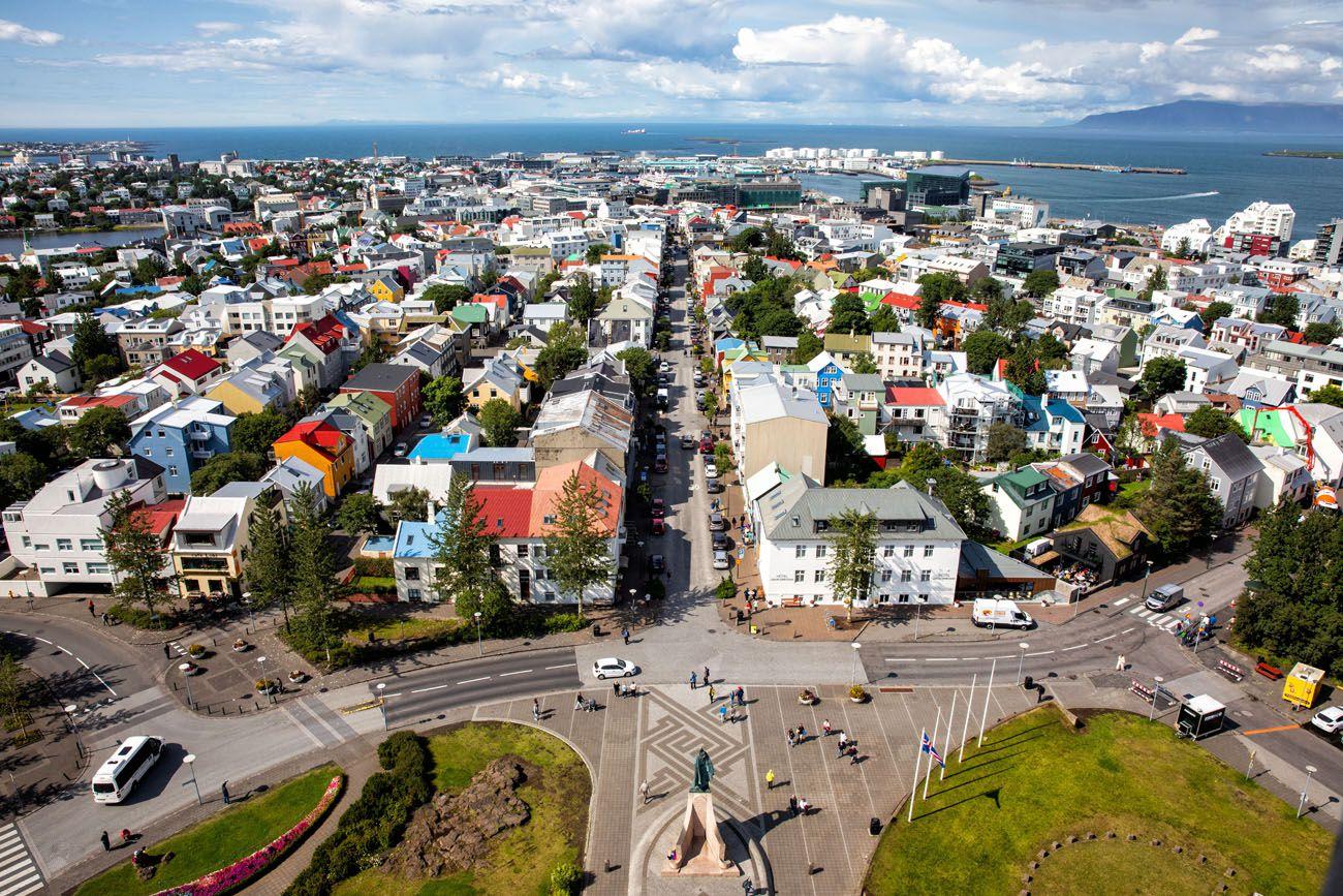 Reykjavik Europe Itinerary
