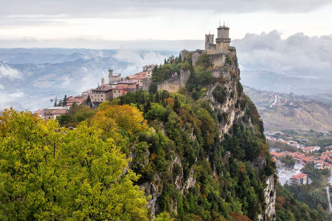 San Marino Two Weeks in Italy Itinerary