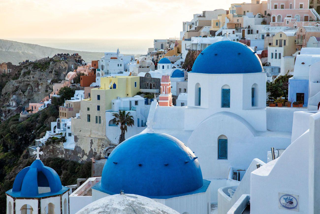 Santorini 10 days in Europe