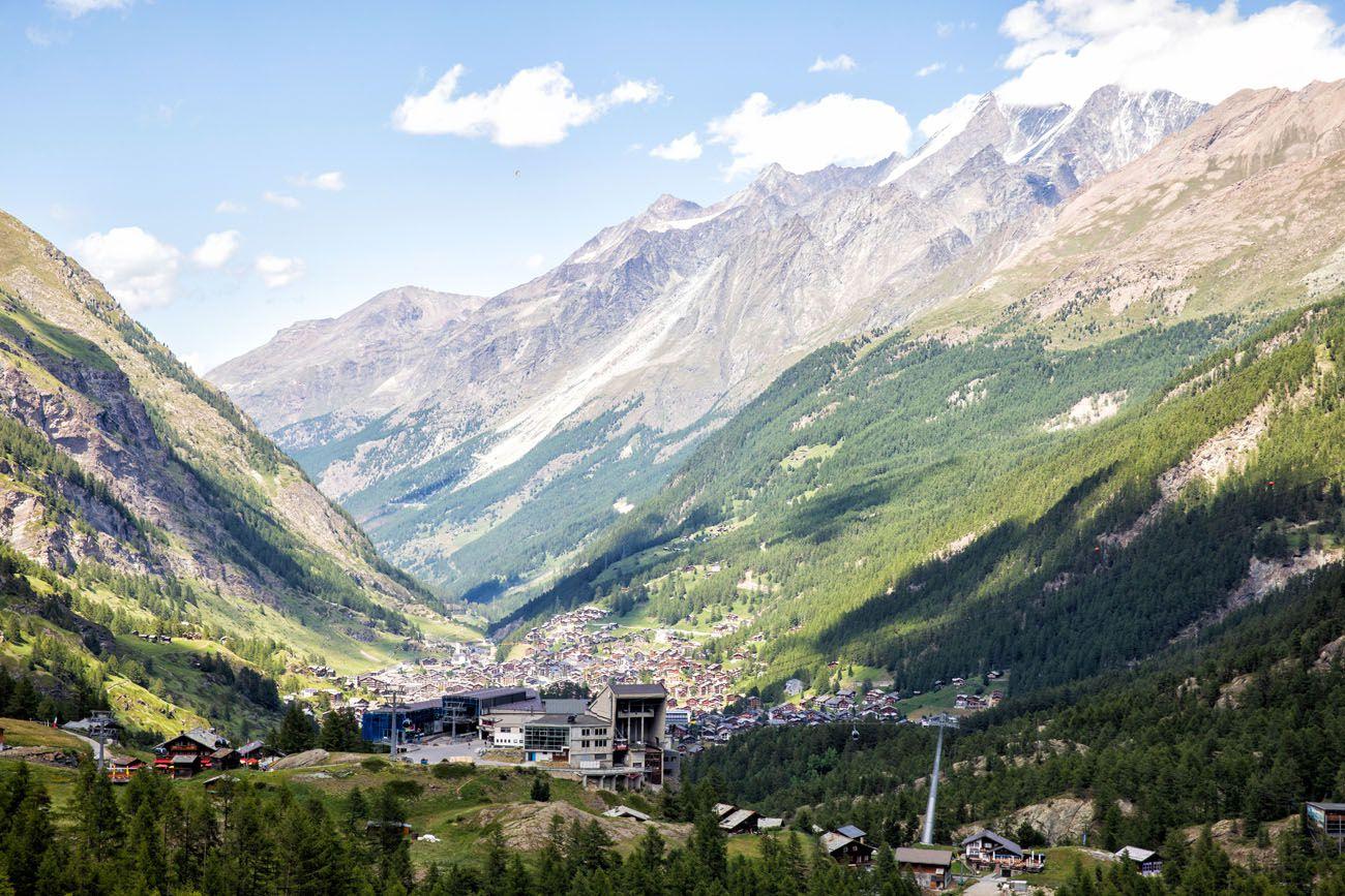 View from Hangebrucke