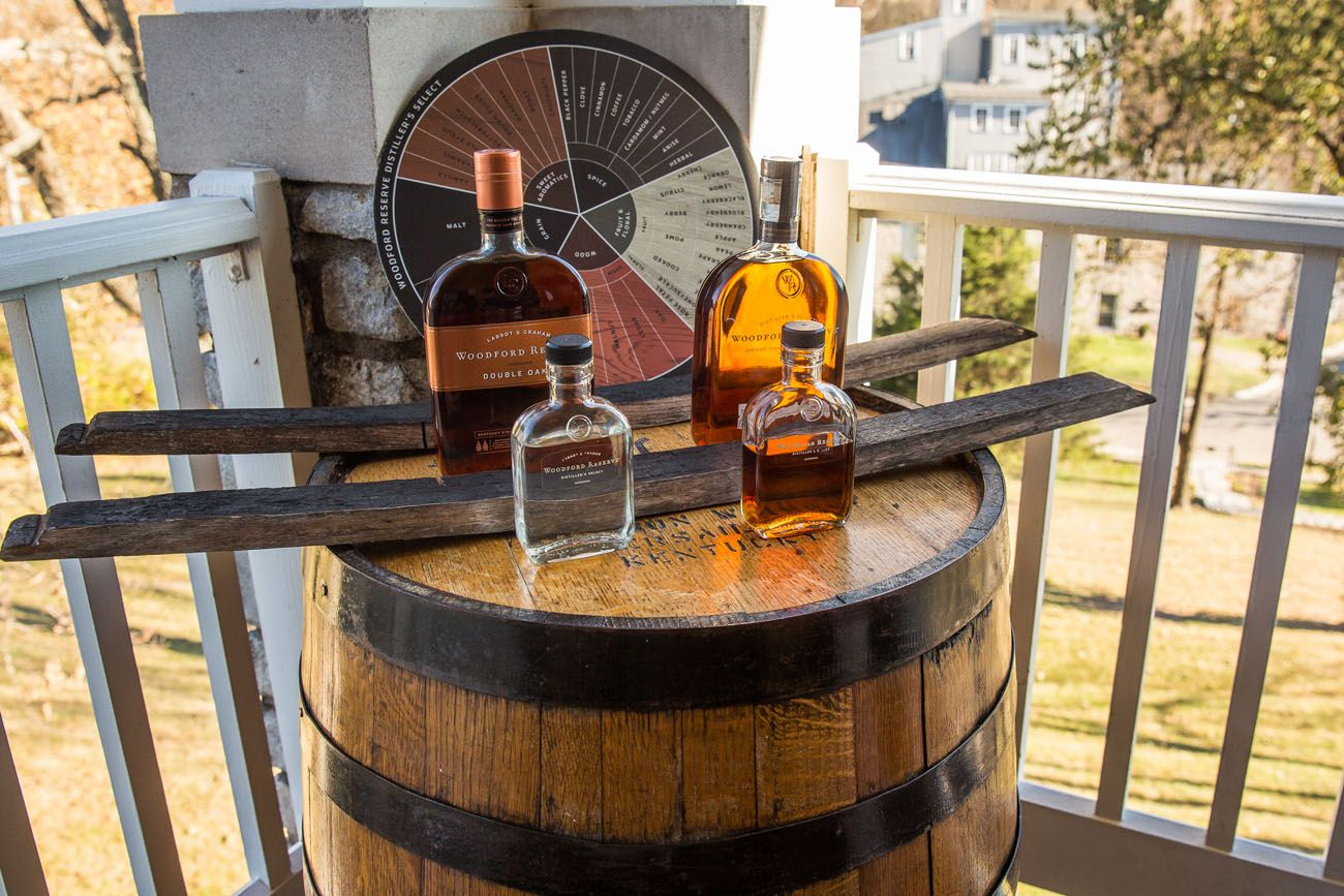 Woodford Reserve Kentucky Bourbon Trail itinerary