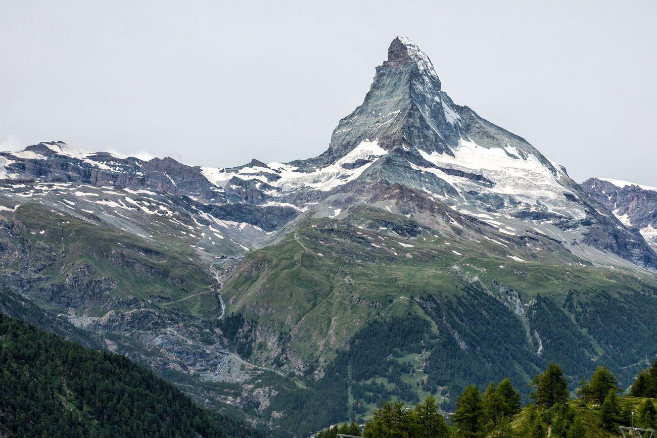 Zermatt Sunnegga Viewpoint