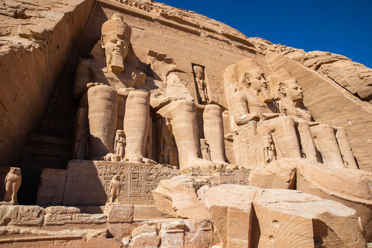 Abu Simbel Close Up