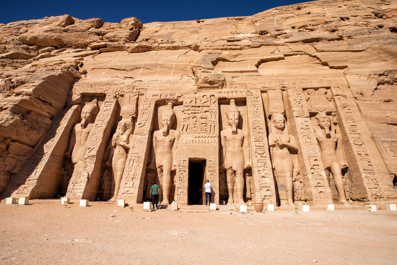 Abu Simbel Small Temple