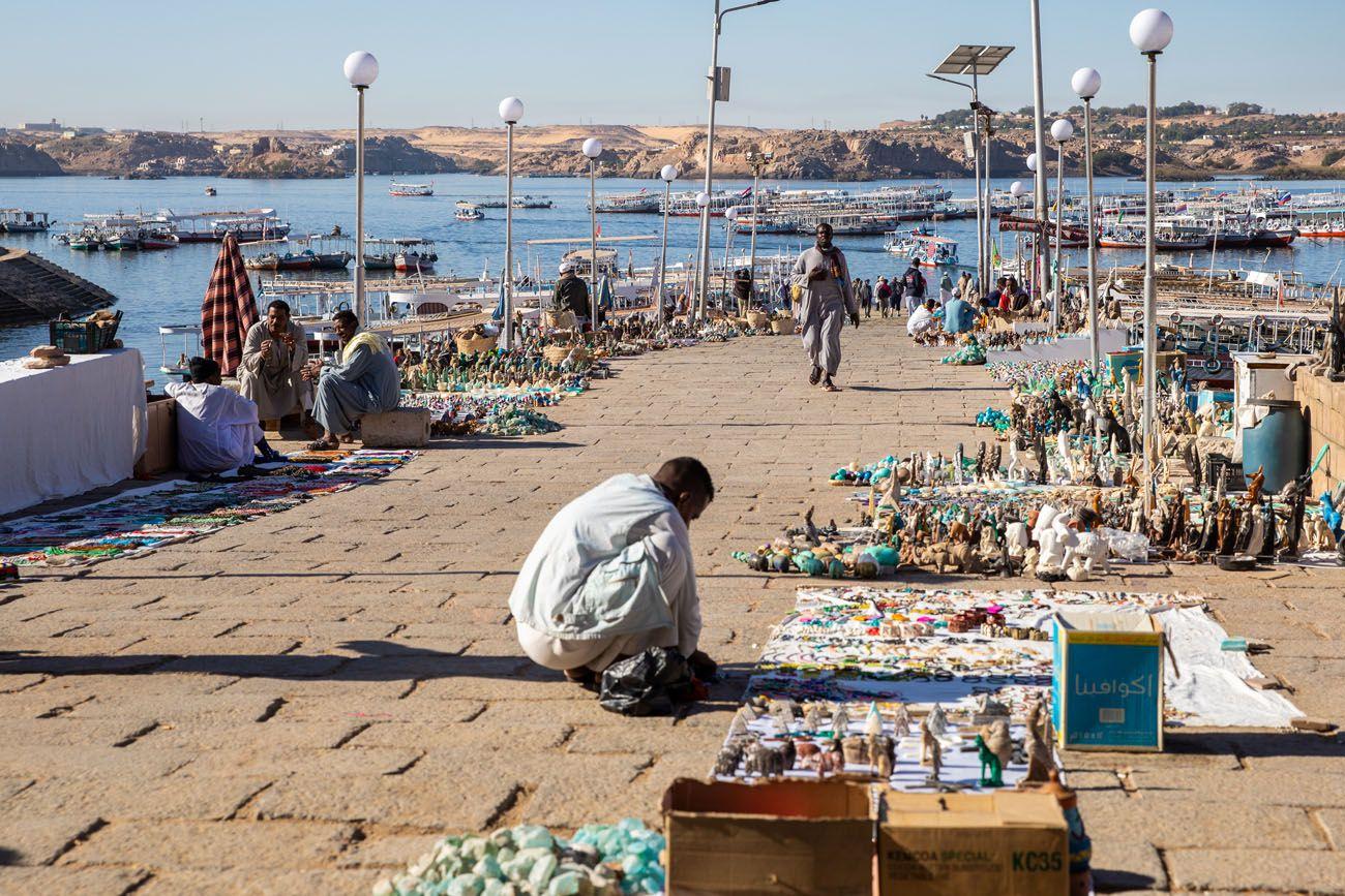Aswan Boat Dock