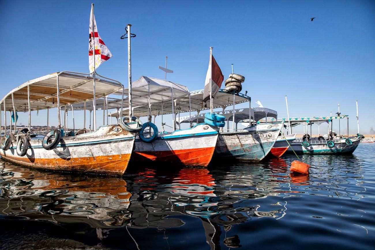 Aswan Water Taxi