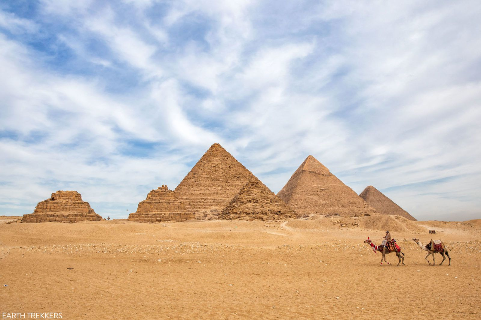 Best View of Pyramids of Giza