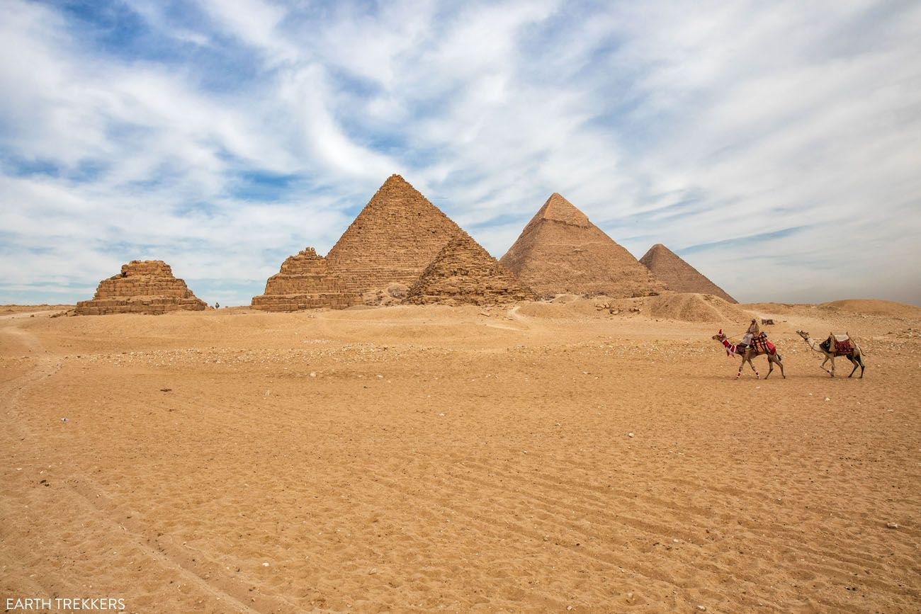 Best Views of the Pyramids of Giza