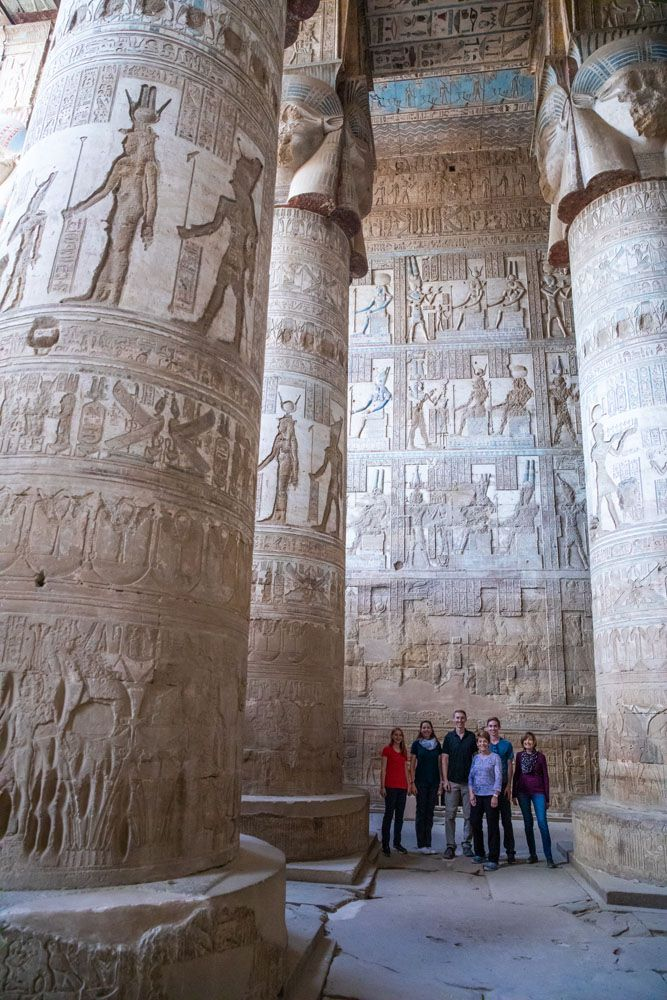 Dendera and Abydos Trip