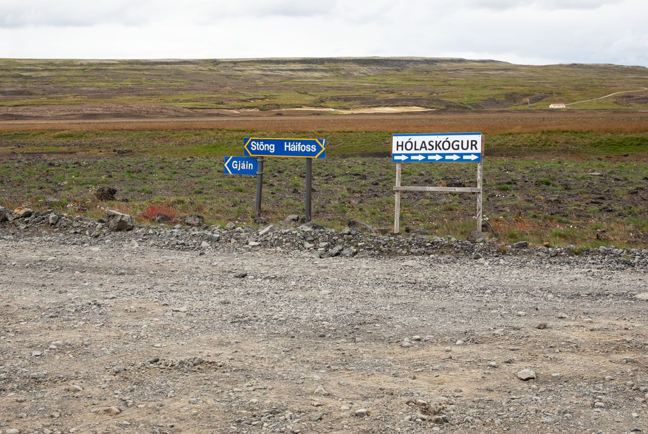 Directions to Haifoss