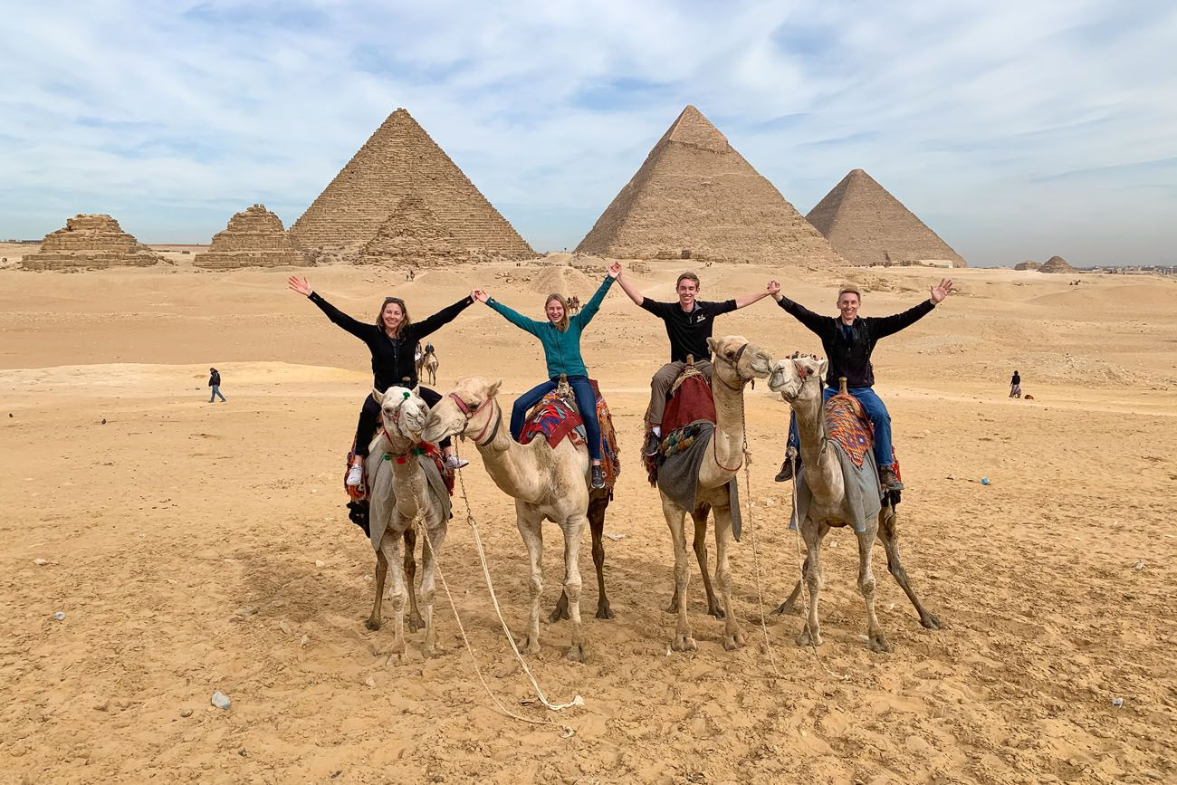 Earth Trekkers in Egypt