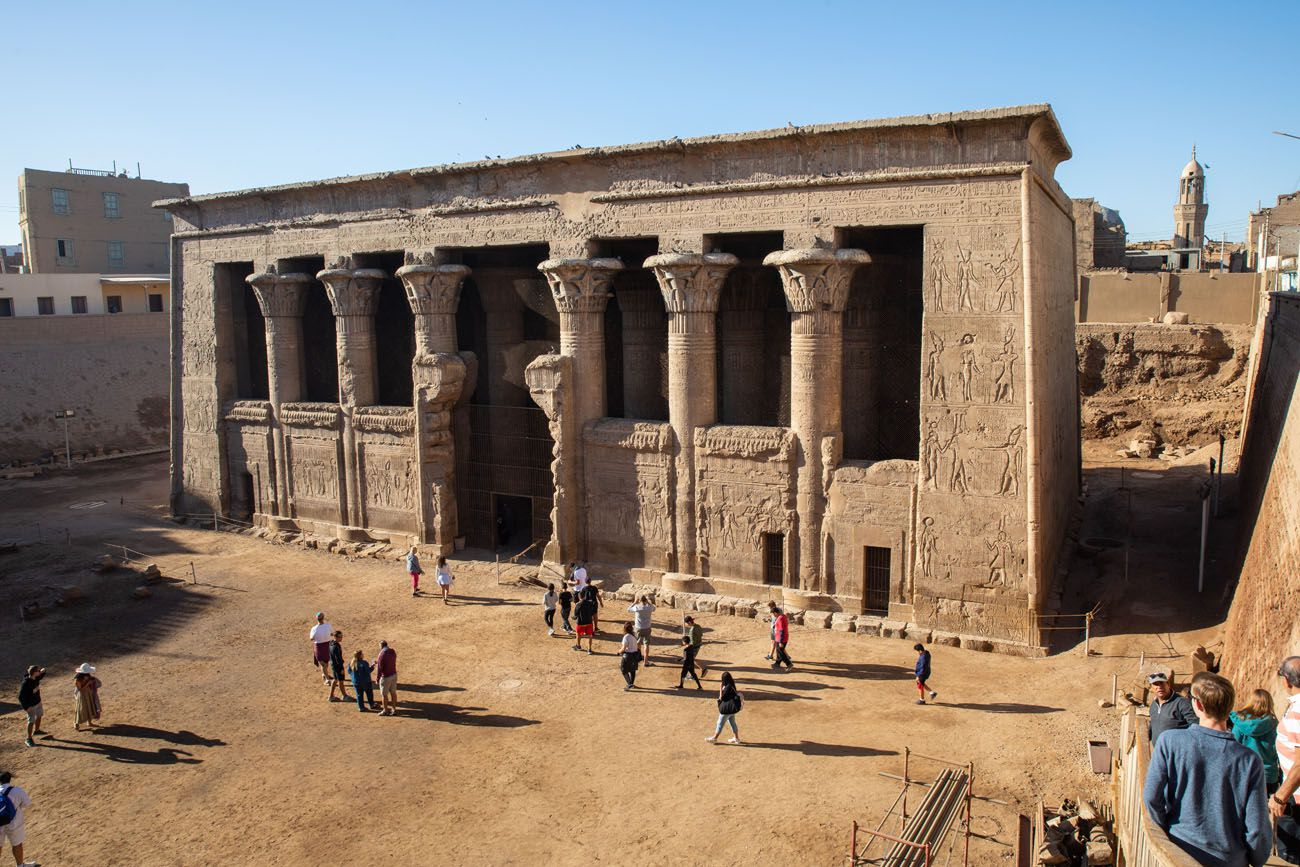 Esna Temple Egypt Itinerary
