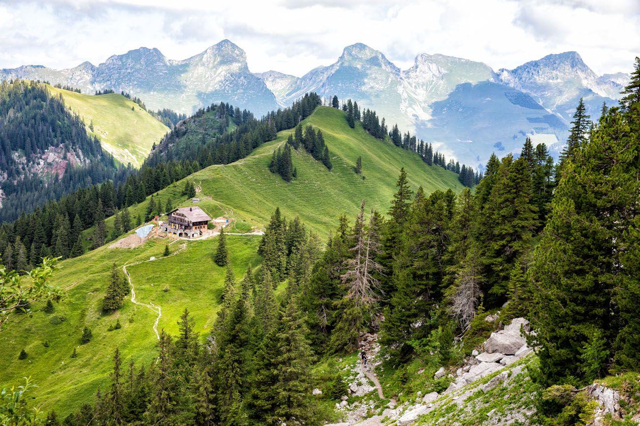 Gastlosen Hike in July