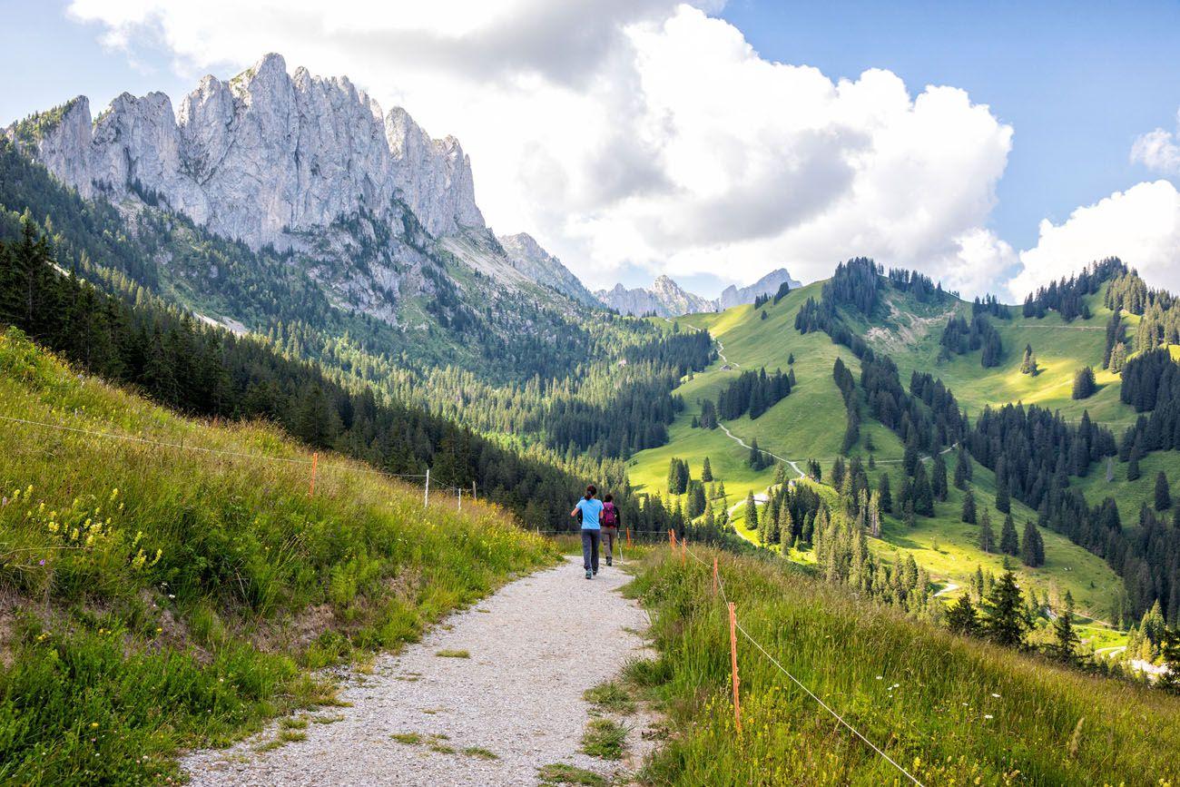 Gastlosen Trail