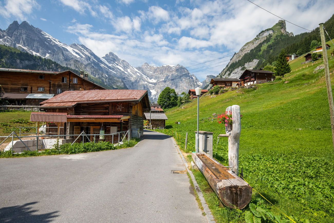 Gimmelwald Switzerland Itinerary