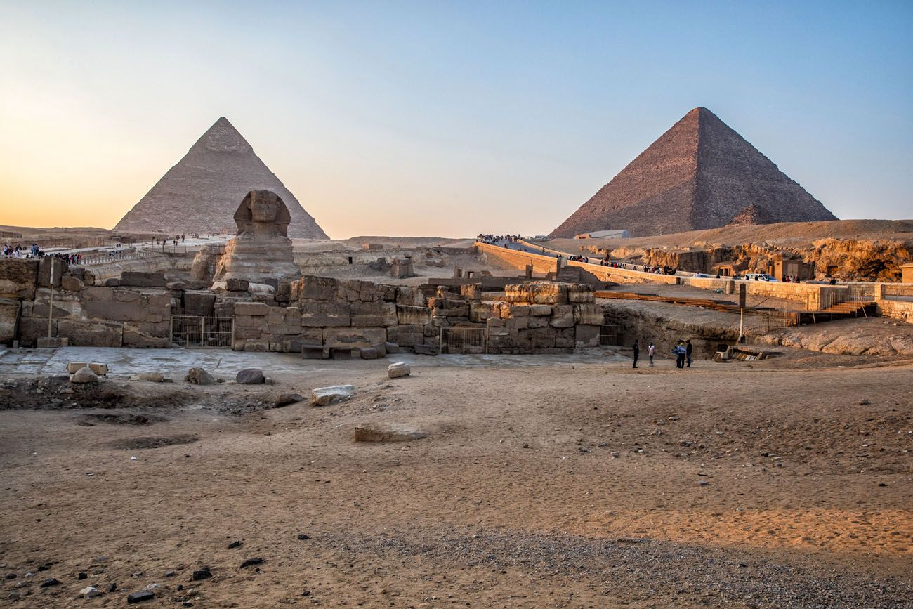 Giza Plateau Sunset