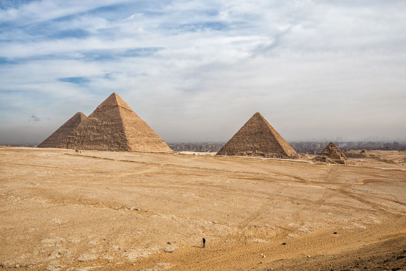 Giza Pyramids Panoramic View