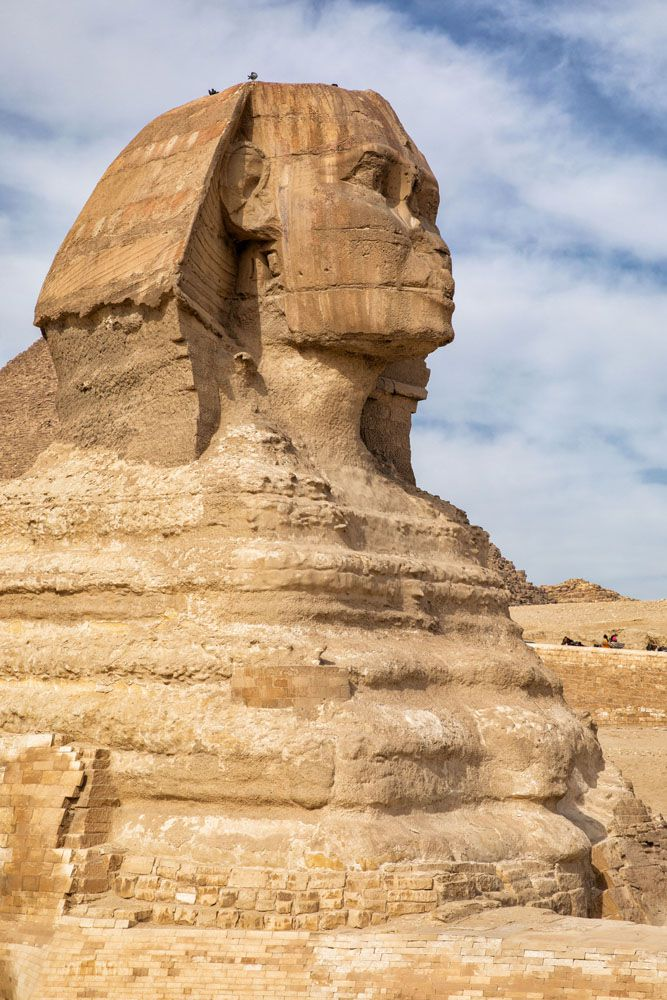 Great Sphinx best views of the pyramids of Giza