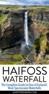Haifoss Waterfall Iceland Travel Guide