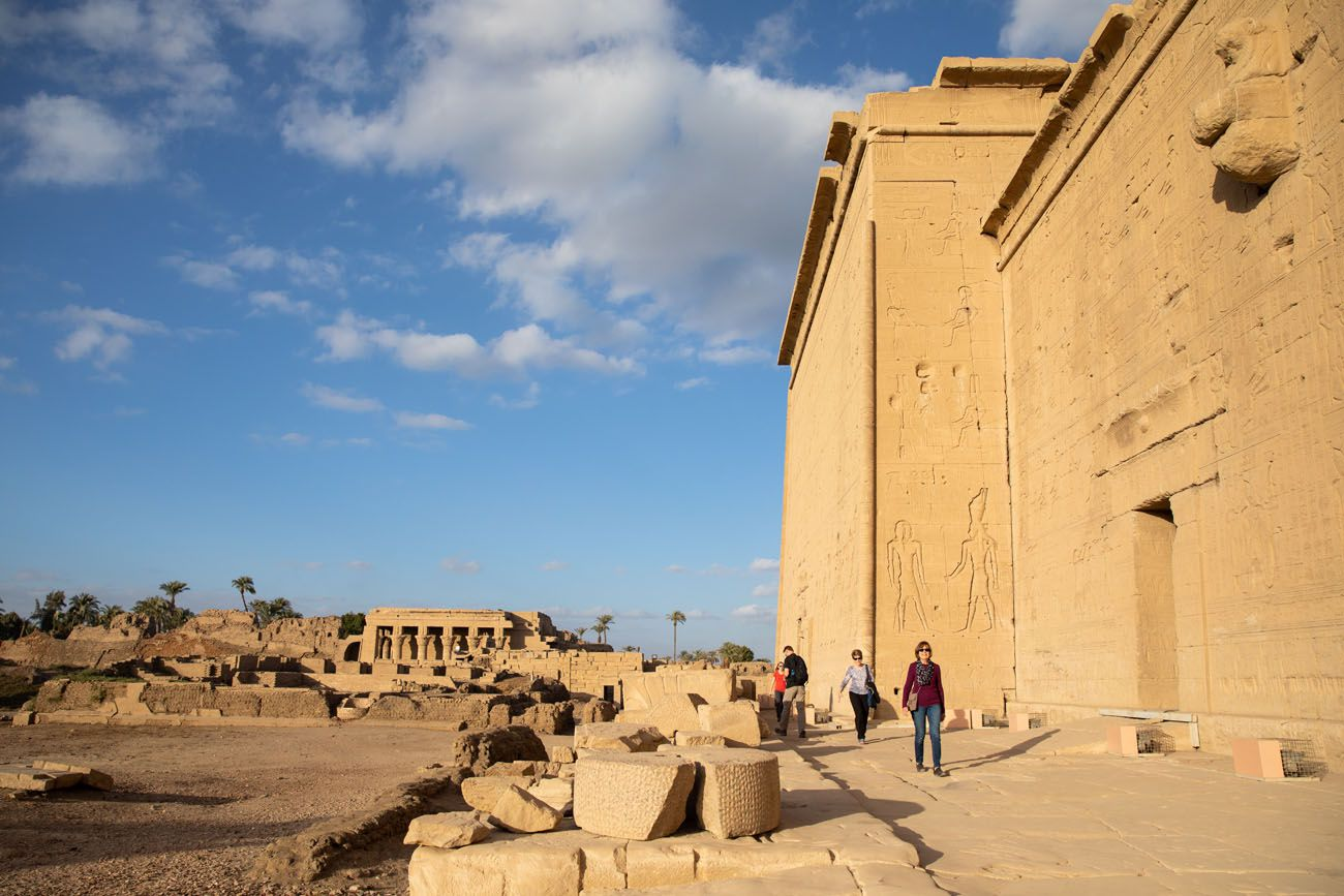 Hathor Temple Exterior